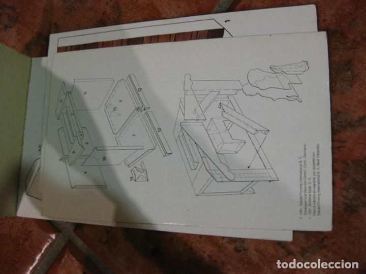 Coleccionismo Recortables: recortable para niños la caperucita roja .edaf . serie construye y juega 1991 germany , diorama - Foto 2 - 110027891