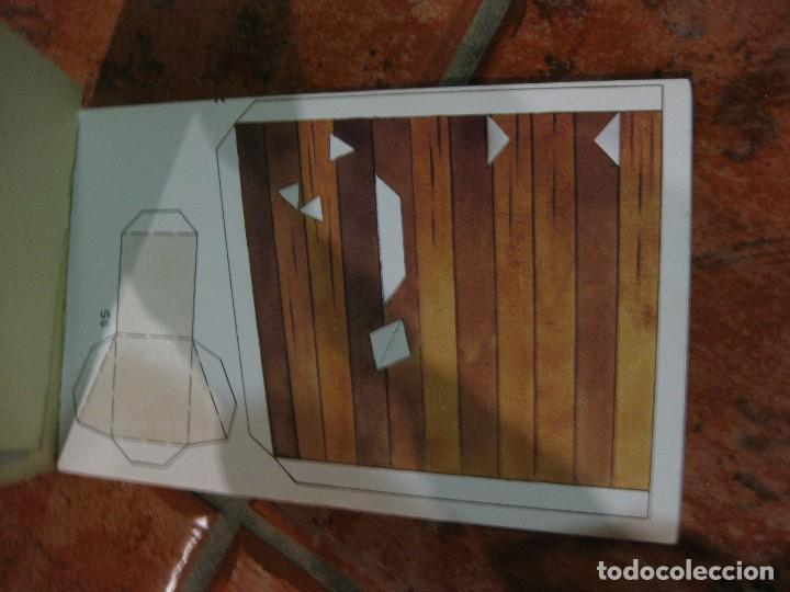 Coleccionismo Recortables: recortable para niños la caperucita roja .edaf . serie construye y juega 1991 germany , diorama - Foto 3 - 110027891