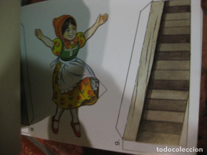 Coleccionismo Recortables: recortable para niños la caperucita roja .edaf . serie construye y juega 1991 germany , diorama - Foto 6 - 110027891