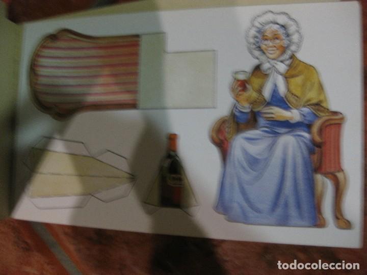 Coleccionismo Recortables: recortable para niños la caperucita roja .edaf . serie construye y juega 1991 germany , diorama - Foto 7 - 110027891
