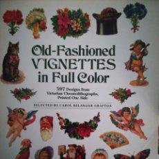 Coleccionismo Recortables: OLD FASHIONED VIGNETES IN FULL COLOR. Lote 112538575