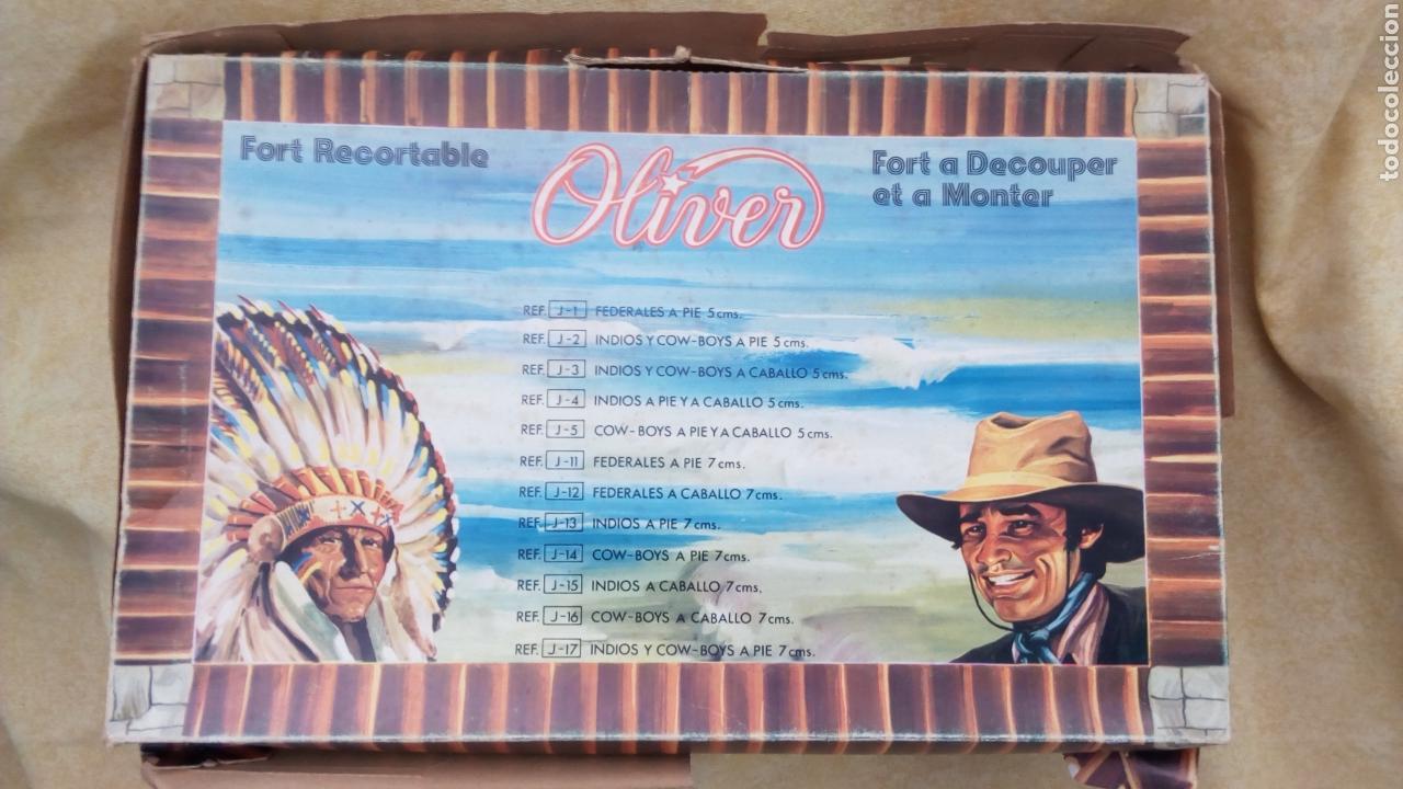 Coleccionismo Recortables: OLIVER CAJA. FORT RECORT. FUERTE RECORTABLE CON FIGURAS. FEDERALES. NO REAMSA, PECH - Foto 8 - 113065047