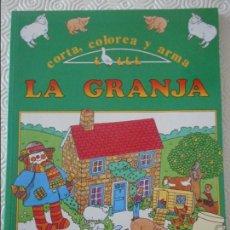 Coleccionismo Recortables: CORTA, COLOREA Y ARMA. LA GRANJA. FHER. 230 GRAMOS.. Lote 113316367