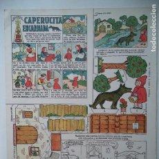 Coleccionismo Recortables: CAPERUCITA ENCARNADA.TBO-COLECCION MAGISTER. Lote 114450171