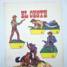 Collezionismo Figurine da Ritagliare: RECORTABLES DE HOY 5. EL OESTE (FRANCISCO LOSADA) BAUSÁN, 1979. OFRT. Lote 183538032