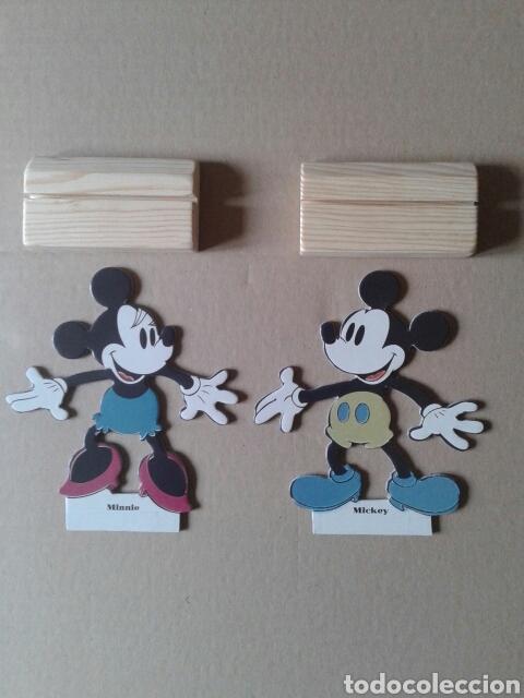 Coleccionismo Recortables: Recortable retro de Mickey y Minnie Mouse. Juguetes Cayro. Reproducción de un juego de los años 20 - Foto 3 - 116063220