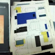 Coleccionismo Recortables: CASA SCHRODER - RIETVELD RECORTABLE. - RECO-91. Lote 191702591