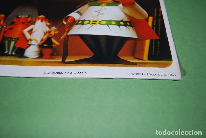 Coleccionismo Recortables: RECORTABLES DE ASTERIX Y OBELIX - ROLLAN - COLECCIÓN COMPLETA PRECINTADA - RARÍSIMO - 1973 - Foto 13 - 118592402