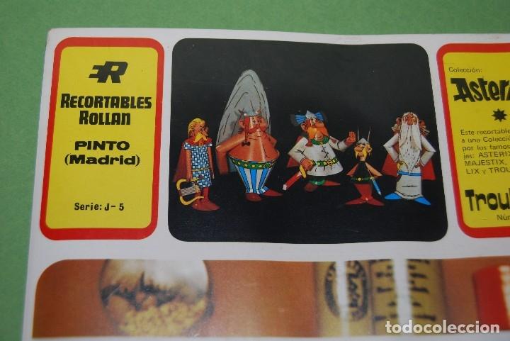 Coleccionismo Recortables: RECORTABLES DE ASTERIX Y OBELIX - ROLLAN - COLECCIÓN COMPLETA PRECINTADA - RARÍSIMO - 1973 - Foto 17 - 118592402