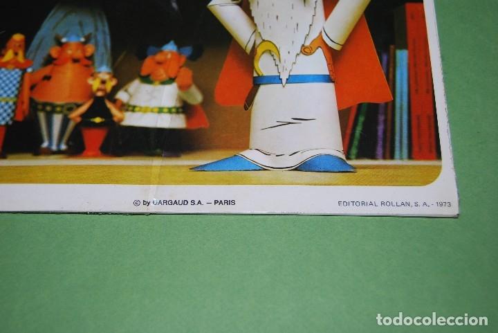 Coleccionismo Recortables: RECORTABLES DE ASTERIX Y OBELIX - ROLLAN - COLECCIÓN COMPLETA PRECINTADA - RARÍSIMO - 1973 - Foto 24 - 118592402