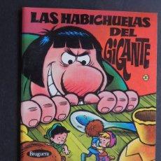 Coleccionismo Recortables: LAS HABICHUELAS DEL GIGANTE / ARRANCA , PEGA Y COLOREA - RECORTABLE / ED. BRUGUERA Nº 30 - 1975 /. Lote 118690714