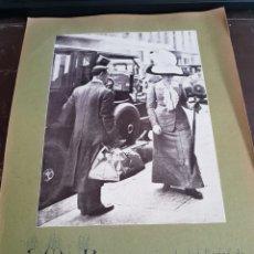 Coleccionismo Recortables: LA REINA RECOGIENDO LAS TIENDAS. Lote 119220587