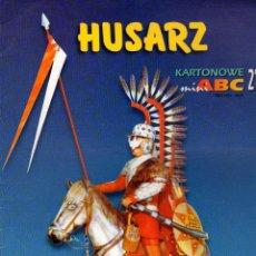 Coleccionismo Recortables: RECORTABLE FIGURA HUSAR. POLONIA. Lote 119530955
