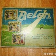 Coleccionismo Recortables: BELÉN : NACIMIENTO ; ADORACIÓN DE LOS PASTORES ; ADORACIÓN DE LOS REYES. - EDICIONES BARSAL. Lote 120406687