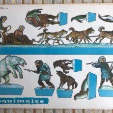 Coleccionismo Recortables: OCHO RECORTABLES EVA PERSONAJES VARIOS SOLDADOS. Lote 121354799