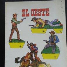 Coleccionismo Recortables: RECORTABLES DE HOY Nº 5 EL OESTE 1979. Lote 121799999