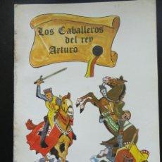 Coleccionismo Recortables: RECORTABLES DE HOY Nº 7 LOS CABALLEROS DEL REY ARTURO 1979. Lote 121800323
