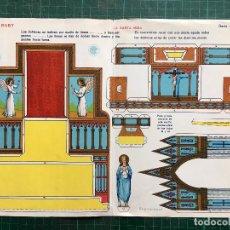 Coleccionismo Recortables: ANTIGUO RECORTABLE - LA SANTA MISA - RECORTABLES BABY SERI C Nº 45 - MIDE 32,5 X 23,5 CMS. OLD CUT P. Lote 123016627