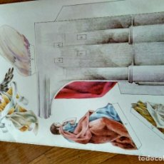 Coleccionismo Recortables: ANTIGUO RECORTABLE EDICIONES SALVATELLA NATIVIDAD DE JESUS CARTON DURO. Lote 124413863