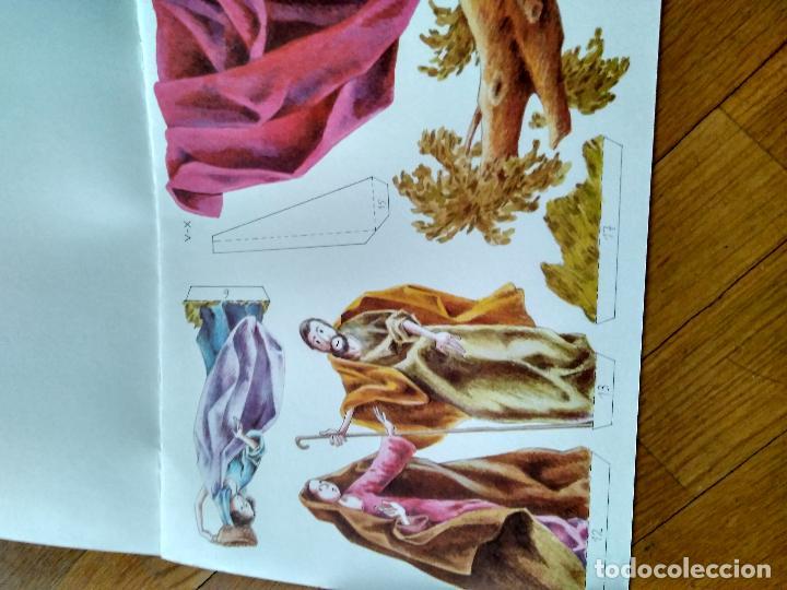 Coleccionismo Recortables: ANTIGUO RECORTABLE EDICIONES SALVATELLA NATIVIDAD DE JESUS CARTON DURO - Foto 3 - 124413863