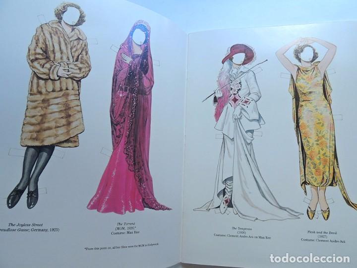 Coleccionismo Recortables: ESPECTACULAR / GRETA GARBO / LIBRO DE RECORTABLES DE SUS PELICULAS / TOM TIERNEY / AÑO 1985 - Foto 3 - 128380003