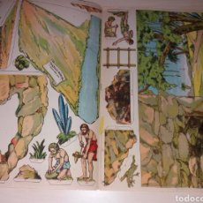 Coleccionismo Recortables: RECORTABLES CUADROS HISTÓRICOS - EDICIONES PEDAGÓGICAS SALVATELLA. Lote 129039439