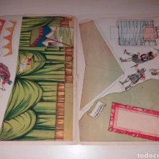 Coleccionismo Recortables: RECORTABLES CUADROS HISTÓRICOS - EDICIONES PEDAGÓGICAS SALVATELLA. Lote 129039472