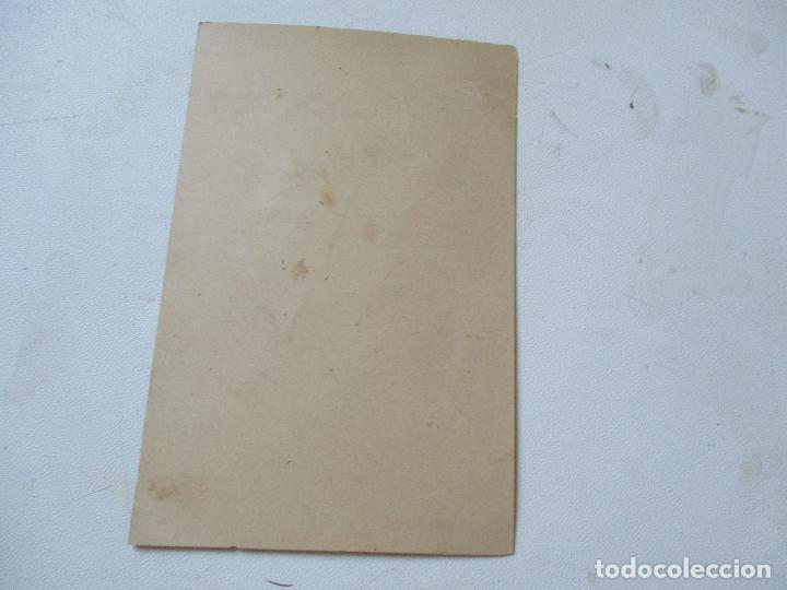Coleccionismo Recortables: ANTIGUA SILUETA- 14 X 9 CM.- PEGADA EN CARTULINA - Foto 2 - 130021387