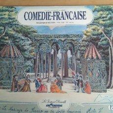 Coleccionismo Recortables: COMEDIE-FRANCAISE THÉÂTRES ET DÉCORS. Lote 131277167