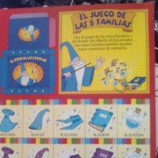 Coleccionismo Recortables: RECORTABLE MAGIC ENGLISH. Lote 133239299
