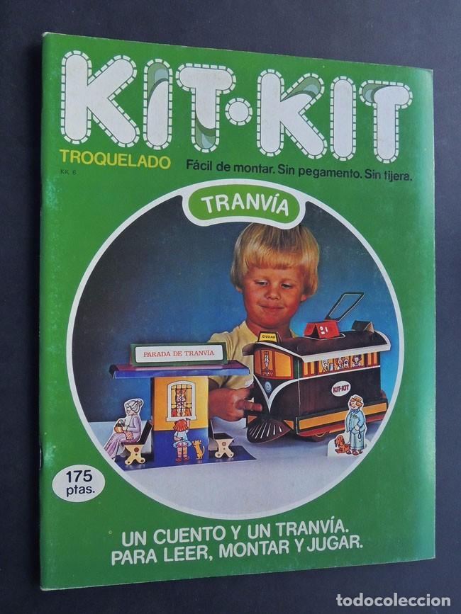 TRANVIA / KIT KIT Nº 6 / TROQUELADO - PARA MONTAR Y JUGAR / ARGOS VERGARA 1980 / SIN USAR (Coleccionismo - Otros recortables)