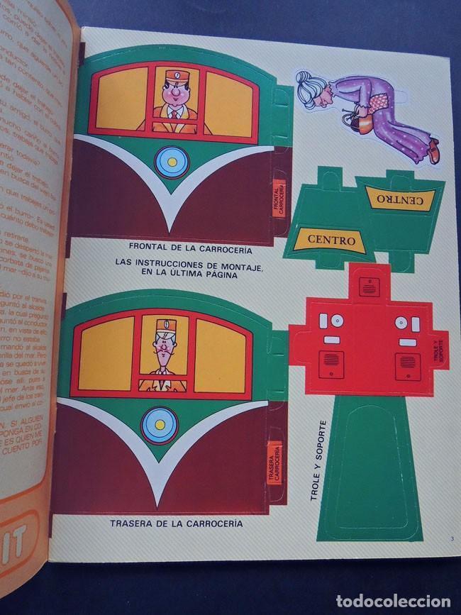 Coleccionismo Recortables: TRANVIA / KIT KIT Nº 6 / TROQUELADO - PARA MONTAR Y JUGAR / ARGOS VERGARA 1980 / SIN USAR - Foto 2 - 133406470