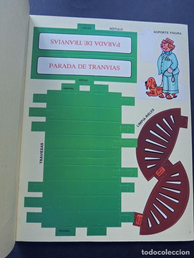 Coleccionismo Recortables: TRANVIA / KIT KIT Nº 6 / TROQUELADO - PARA MONTAR Y JUGAR / ARGOS VERGARA 1980 / SIN USAR - Foto 3 - 133406470