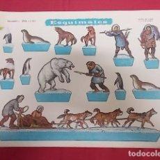 Coleccionismo Recortables: ESQUIMALES. Nº 1101. RECORTABLES EVA.. Lote 136081882