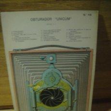 Coleccionismo Recortables: OBTURADOR UNICUM - RECORTABLE CON PIEZAS SUPERPUESTAS. Lote 137278826