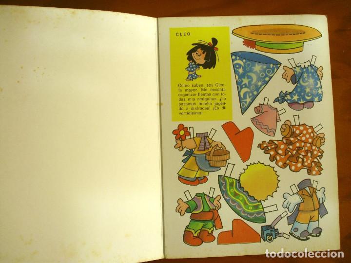 Sammeln von Bastelbögen: RECORTABLES ¡VAMOS A LA CAMA..! -LA FAMILIA TELERIN Y SUS VESTIDOS -EDITORIAL BRUGUERA 1964 - Foto 2 - 137565510