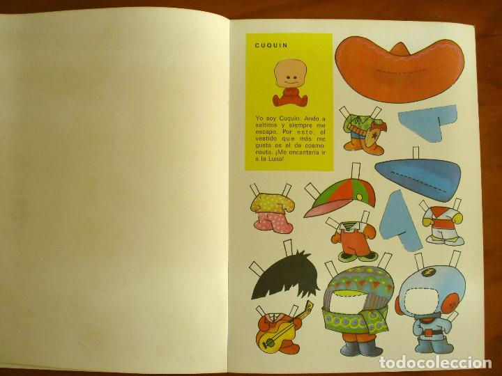 Sammeln von Bastelbögen: RECORTABLES ¡VAMOS A LA CAMA..! -LA FAMILIA TELERIN Y SUS VESTIDOS -EDITORIAL BRUGUERA 1964 - Foto 6 - 137565510