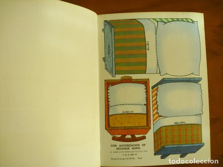 Sammeln von Bastelbögen: RECORTABLES ¡VAMOS A LA CAMA..! -LA FAMILIA TELERIN Y SUS VESTIDOS -EDITORIAL BRUGUERA 1964 - Foto 8 - 137565510