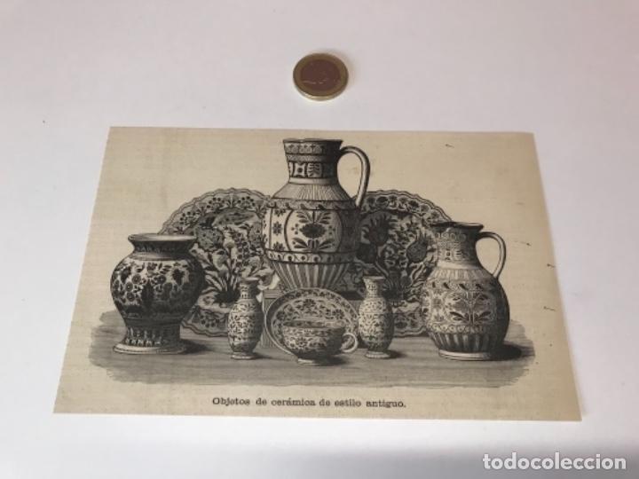 Coleccionismo Recortables: Lote de 52 grabados de Ilustración Artistica de 1882 1883. Fabres, Berta Wegmann, Velázquez, Fortuny - Foto 10 - 139846882