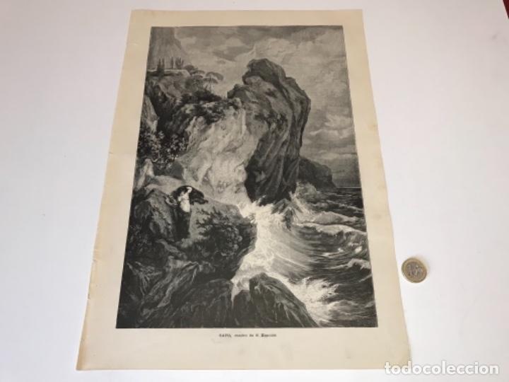 Coleccionismo Recortables: Lote de 52 grabados de Ilustración Artistica de 1882 1883. Fabres, Berta Wegmann, Velázquez, Fortuny - Foto 46 - 139846882