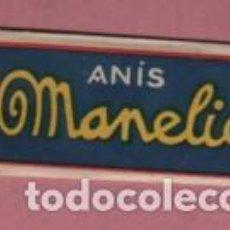 Collectionnisme Images à Découper: SOBRE PUBLICIDAD ANIS MANELIC - ROMPECABEZAS - DESTILERIAS BOFILL - BARCELONA. Lote 143465044