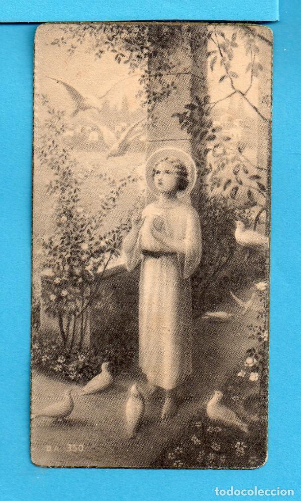 RECORDATORIO DE PRIMERA COMUNIÓN EN MADRES CARMELITAS DESCALZAS DE REUS AÑO 1940 (Coleccionismo - Otros recortables)