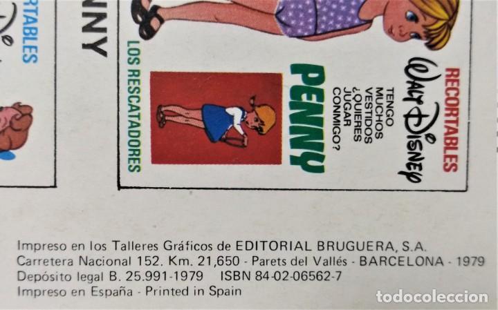 Penny walt disney - bruguera (1979) recortable - Vendido en