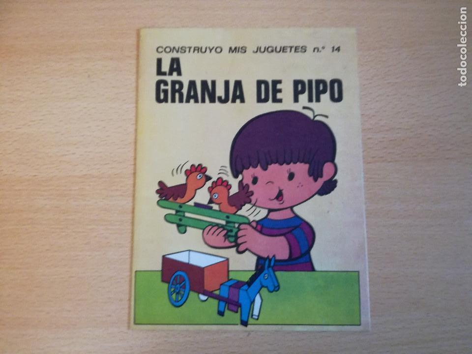 Coleccionismo Recortables: Construyo mis juguetes números 1 y 14, Bruguera, 1974, nuevos. Ver fotos. - Foto 2 - 140903458