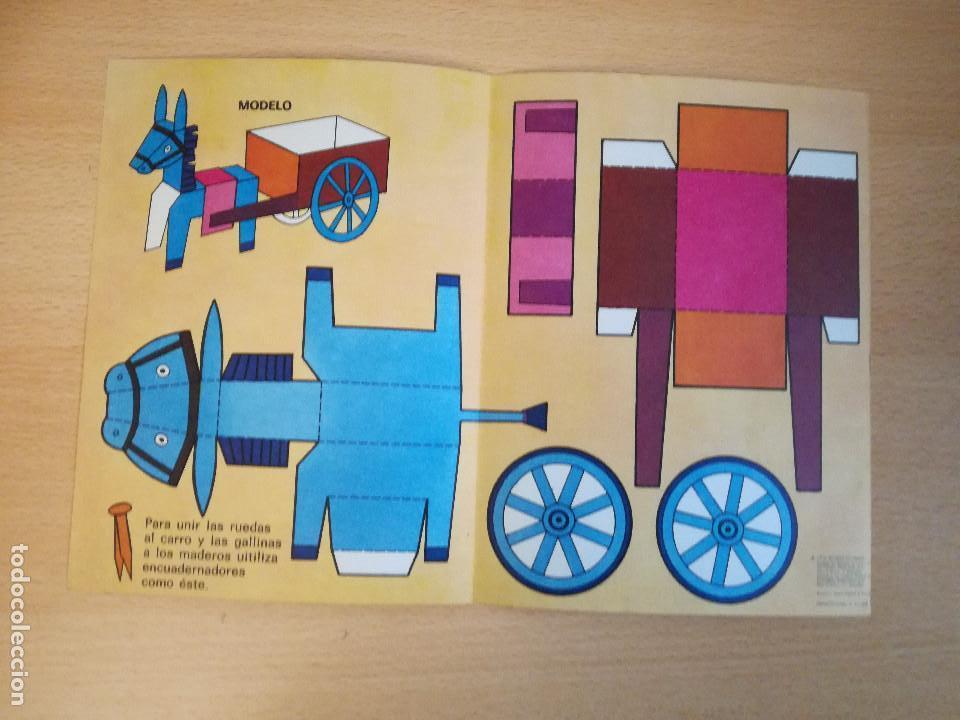 Coleccionismo Recortables: Construyo mis juguetes números 1 y 14, Bruguera, 1974, nuevos. Ver fotos. - Foto 6 - 140903458