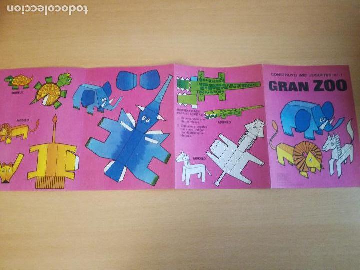 Coleccionismo Recortables: Construyo mis juguetes números 1 y 14, Bruguera, 1974, nuevos. Ver fotos. - Foto 10 - 140903458