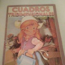 Coleccionismo Recortables: CUADERNO CUADROS TRIDIMENSIONALES PUNTO PRESTIGIO MEXICO.. Lote 211263394