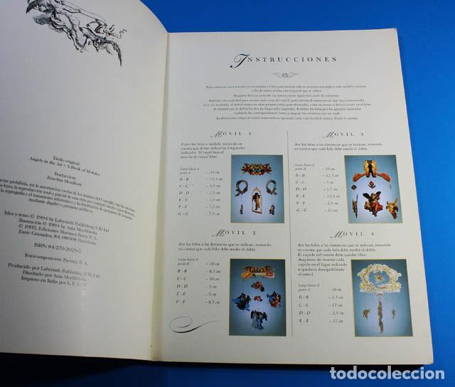 Coleccionismo Recortables: LIBRO DE RECORTABLES EL KIT DE LOS ANGELES MÓVILES, ANIA MOCHLINSKA, MARTÍNEZ ROCA 1994, 34,50 X 25 - Foto 2 - 142450214