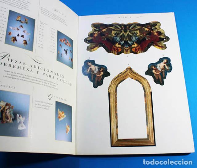 Coleccionismo Recortables: LIBRO DE RECORTABLES EL KIT DE LOS ANGELES MÓVILES, ANIA MOCHLINSKA, MARTÍNEZ ROCA 1994, 34,50 X 25 - Foto 4 - 142450214