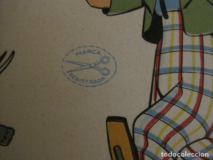 Coleccionismo Recortables: CIRCO INFANTIL-RECORTABLE LA TIJERA-AÑO 1958-9 HOJAS MAS PORTADA-VER FOTOS-(V-15.421) - Foto 2 - 142599622